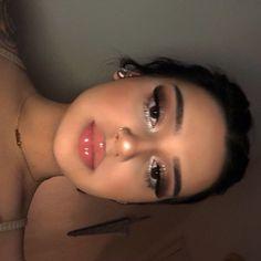 Baddie Makeup, Glam Makeup, Skin Makeup, Makeup Inspo, Makeup Inspiration, Beauty Makeup, Makeup Ideas, Makeup Tips, Doll Eye Makeup