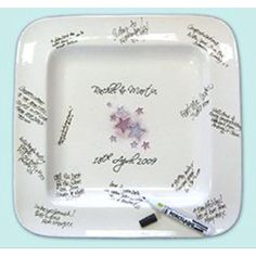 Hand painted platters from signatureplatters.co.uk