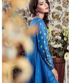 Feminine Embroidered Lawn Collection 2016 FEM_07A