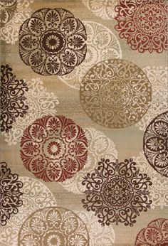 Accent any decor with this KAS Rugs Heritage Medallion rug. In sage. Transitional Living Rooms, Transitional House, Transitional Lighting, Carpet Sale, Cheap Carpet, Earthy Color Palette, Thing 1, Circular Pattern, Rectangular Rugs