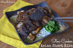 100 days: slow cooker asian short rib