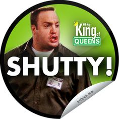 Steffie Doll's The King of Queens Sticker King Of Queens, Funny As Hell, The Funny, Queen Meme, Funny Scenes, Watch Tv Shows, Comedy Tv, Great Tv Shows, Seinfeld