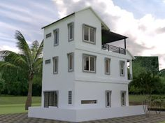 Tiny House - Drawing From and - Sketchup + Autocad Step by Step 1200 Sq Ft House, Plans Architecture, Small House Design, Little Houses, Autocad, Tiny House, House Plans, 2d, Google Drive