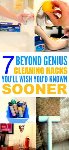 Beyond Genius Ways to Use Household Items These 7 cleaning hacks with household items are THE BEST! I'm so happy I found these GREAT tips! Now I can save money and make my home look so clean and fresh! I'm SO pinning for later!Clean Clean may refer to: Household Cleaning Tips, Cleaning Recipes, House Cleaning Tips, Diy Cleaning Products, Cleaning Solutions, Spring Cleaning, Household Items, Cleaning Hacks, Household Cleaners