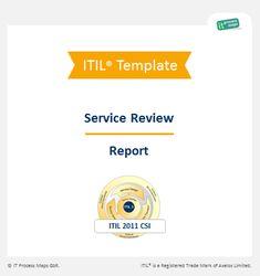 Checklist Service Review Report