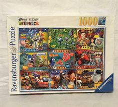 Ravensburger Jigsaw Puzzle Disney-Pixar Movies 1000 Piece New Sealed
