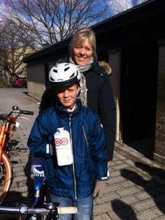 Susi og Joachim: Fordi flere i familien har kræft. #landsindsamling #visflaget