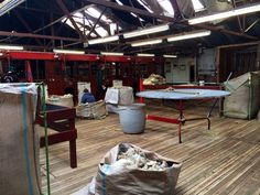 Shearing shed - north arm - Falkland Islands