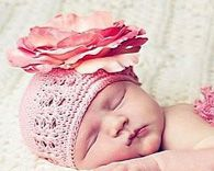 Jamie Rae Pink Crochet Hat Rose Flower