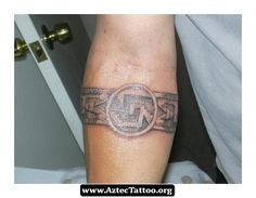 Aztec Tattoos Bands 07 - http://aztectattoo.org/aztec-tattoos-bands-07/