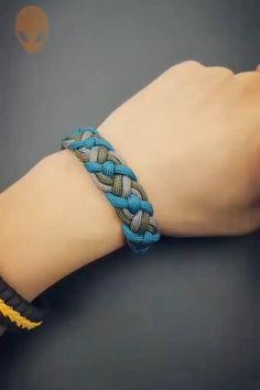 Rope Crafts, Diy Crafts Hacks, Diy Crafts Jewelry, Diy Crafts For Gifts, Bracelet Crafts, Creative Crafts, Diy Projects, Simple Crafts, Jewelry Ideas