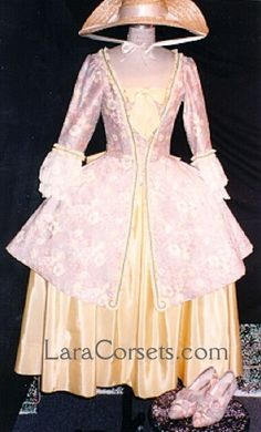 18th century Caraco Gown by LaraCorsets