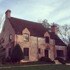 "Limestone & Boxwoods - Instagram (@limestoneboxwoods) - A classic house in Marietta, Georgia designed by architect William Montgomery ""Gummy"" Anderson."