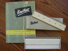 Maquina De Tejer, Knittax Peine 33 Puntos + Libro Muestrario -