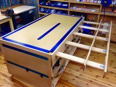 Gøffe: Arbeidsbenk - Assembly table - image.jpg - Gøffe