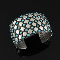 Diamond-Patterned Cu
