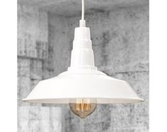 Lampa Factory White 009S o średnicy 260 mm