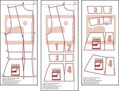 Patrón costura Chaqueta Sira Quiroga Capitulo 6 Tiempo entre Costuras