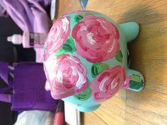 Sorority crafts- yellow tea rose instead?