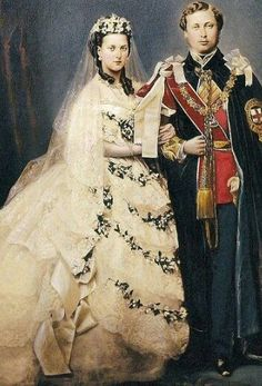 The Marriage of  the future King Edward VII and Queen Alexandra - 1863
