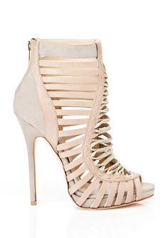 JIMMY CHOO Ankle Bootie sexy nude shoes