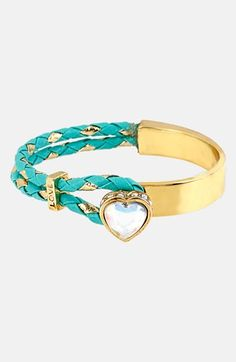 Betsey Johnson 'Fairyland' Heart Toggle Bracelet available at #Nordstrom