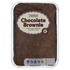 Tesco Chocolate Brownie Traybake - Groceries - Tesco Groceries