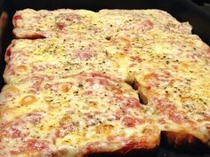 Pizza de pão | Receitas Brasileiras e Portuguesas