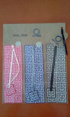 Girassol handmade art: Marcas Páginas embalados/ Cartonagem #