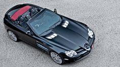 Exquisite Mercedes-Benz SLR McLaren Roadster via Kahndesign.com
