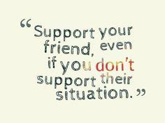 support   via Facebook