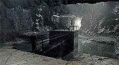 Dark Knight Rises Batcave Concept Artwork