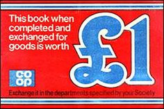 Co-op savings stamp book cover. 1970s Childhood, My Childhood Memories, Childhood Toys, Northern Girls, Fun Live, Those Were The Days, Retro Toys, Good Ol, School Days