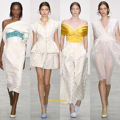 Emilio de la Morena Spring/Summer 2017  #emiliodelamorena #ss17#springsummer2017#LFW#londonfashionweek#fashion#fashionweek#fashionshow#semanadelamoda#london#womenswear#womensfashion#rtw#runway#fashionissta1#igers#highfashion#vogue#moda#estilo#style
