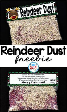 Reindeer Dust Reindeer Dust is the perfect free printable for your students or your child's friends at school. This fun activity will make their Christmas magical. It is perfect for preschool, kindergarten, and first grade students. Student Christmas Gifts, Diy Christmas Gifts For Kids, School Christmas Party, Preschool Christmas Crafts, Kids Gifts, Christmas Fun, Christmas Activities For Preschoolers, Christmas Treats, Christmas Decorations
