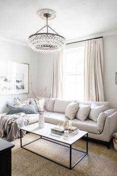 casual elegant living room