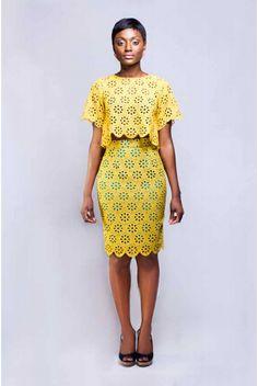 "Bello Edu Spring/Summer 2014 ""The Bloom"" Collection  #ciaafrique #africanfashion #Ghana"