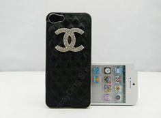 Fashion Custom black leather case iphone 5 cases by dnnayding, $21.99