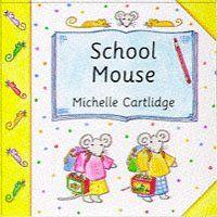 School Mouse (Mini-mouse books) by Michelle Cartlidge http://www.amazon.com/dp/033369080X/ref=cm_sw_r_pi_dp_Unobvb0H0X7WR