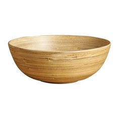 Grand bol 20 cm en bois naturel