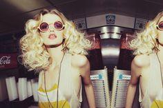 Roller girl hair inspo