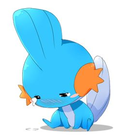 It's a Mudkip. And it's crying!