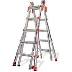 Little Giant Ladder 22 ft Aluminum Velocity Multi-Position Ladder