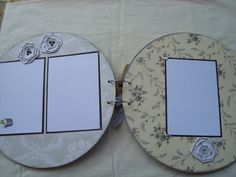 50th Wedding Anniversary 12 inch round chipboard by 2MomsGreetings, $30.00