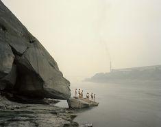Le Yangtze par Nadav Kander