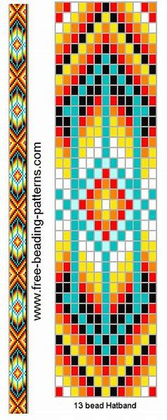 Image result for Free Native American Seed Bead Loom Patterns