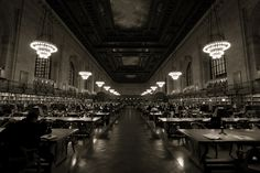 The reading room at the New York Public Library | Alexander Jorgensen