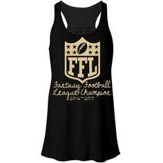 Fantasy Football Tank for Women Fantasy Football League Champion | Fantasy Football League Champion Prize