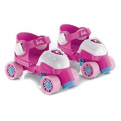 Girl Pink Barbie Roller Skates Grow with Me Fisher-Price Preschool and Toddler Toys Games and Learning Activities by Mattel Fisher Price, Face Off, Christmas Toys, Pink Christmas, Christmas Birthday, Best Roller Skates, Toddler Roller Skates, Roller Derby, Hockey