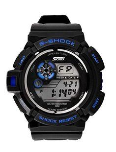 DAYAN Männer Sportuhren Military-Uhr-beiläufige Digitaluhr LED-Multifunktions-Armbanduhr-50M wasserdichte Kursteilnehmer Uhr - http://on-line-kaufen.de/dayan-2/dayan-maenner-sportuhren-military-uhr-led-50m-uhr